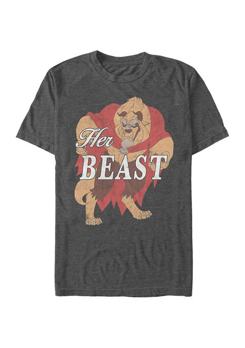 Disney® Disney Princess Her Beast Short Sleeve Graphic
