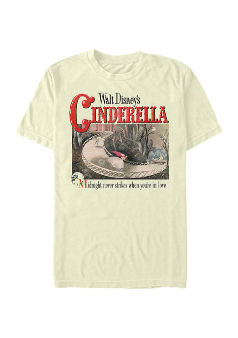 Disney Princess Cinderella Cover Short Sleeve Graphic T-Shirt