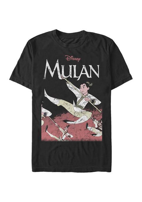 Disney® Disney Princess Mulan Frame Short Sleeve Graphic