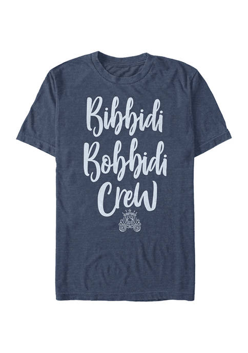 Disney® Disney Princess Bibbidi Crew Short Sleeve Graphic