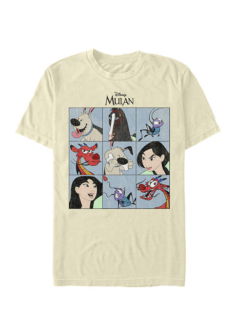 Disney Princess Favorite Characters Short Sleeve Graphic T-Shirt