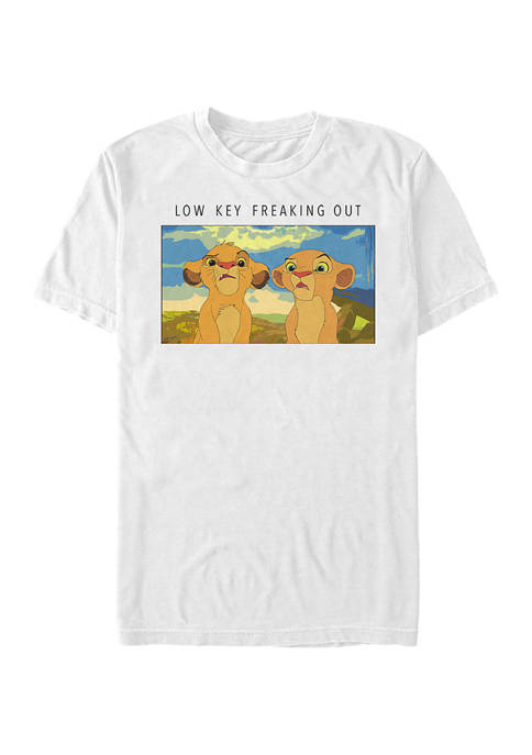 Lion King Low Key Lions Short Sleeve Graphic T-Shirt