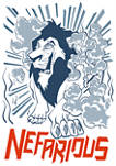 Lion King Scar Nefarious Short Sleeve Graphic T-Shirt