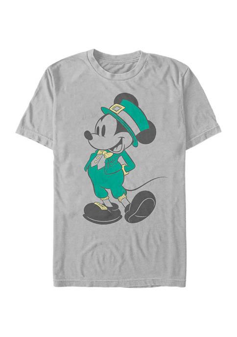 Disney® Mickey Classic Leprechaun Mickey Graphic Short Sleeve