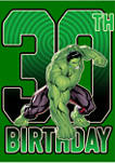 Marvel Hulk 30th Birthday Graphic Short Sleeve T-Shirt