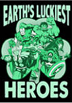 Marvel Luck of the Hero Graphic Short Sleeve T-Shirt