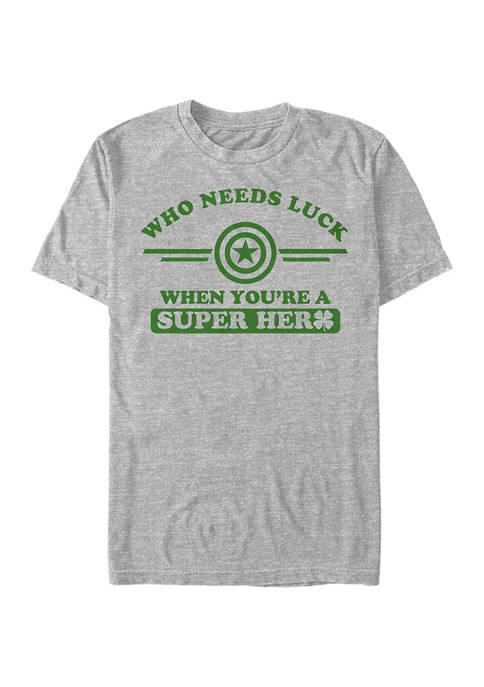 Short Sleeve Cap a Clover Collegiate Graphic T-Shirt