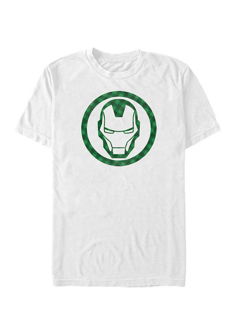 Marvel™ Avengers Lucky Iron Graphic Short Sleeve  T-Shirt