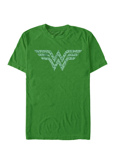 Wonder Woman™ Wonder Woman Shamrock Graphic Short Sleeve