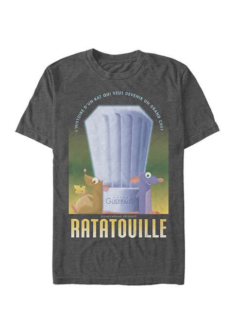 Ratatouille Histoire Dun Rat Poster Short Sleeve Graphic T-Shirt