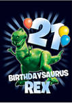 Toy Story Balloon Rex 21 Short Sleeve Graphic T-Shirt