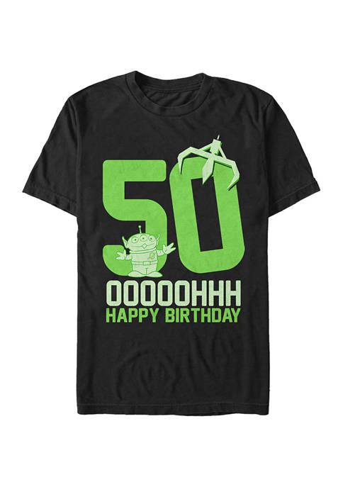Toy Story Ooohh Fifty Short Sleeve Graphic T-Shirt