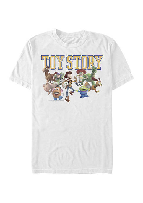 Toy Story Varsity Short Sleeve Graphic T-Shirt