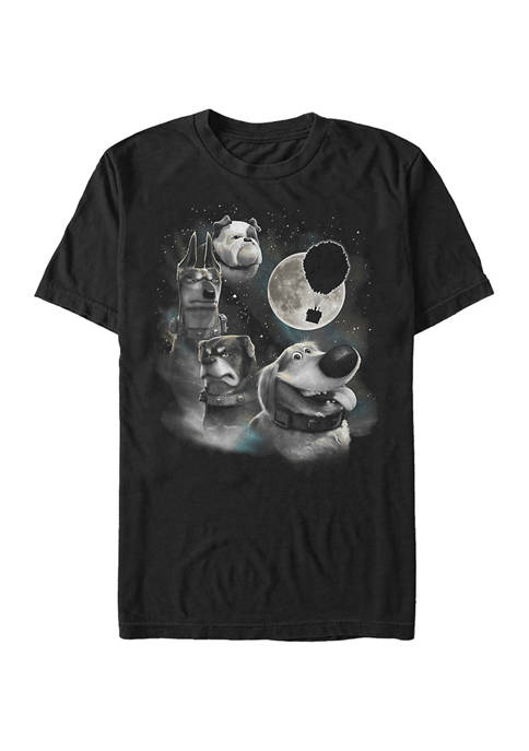 Disney® Pixar™ Up Dug Moon Short Sleeve Graphic