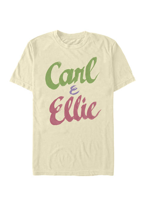 Up Carl and Ellie Short Sleeve Graphic T-Shirt