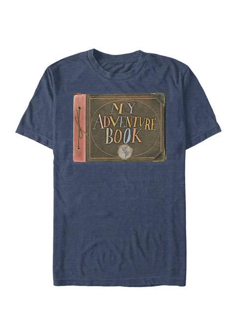 Up Adventure Book Short Sleeve Graphic T-Shirt