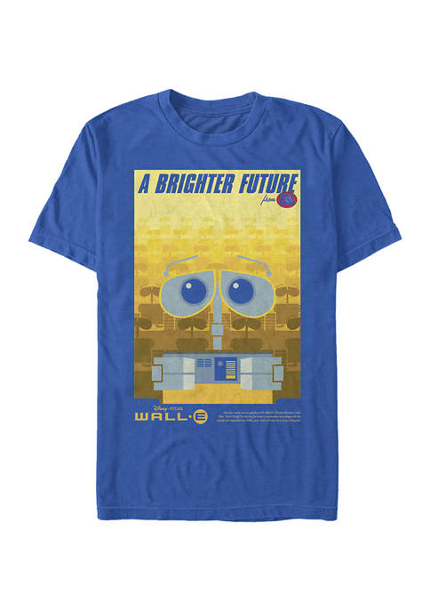 Disney® Pixar™ Wall-E Brighter Future Poster Short Sleeve