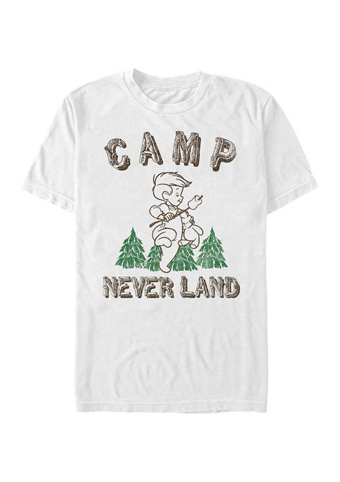 Tinkerbell Camp Neverland Short Sleeve Graphic T-Shirt