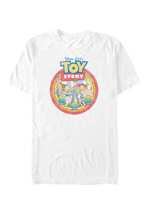 Toy Story Group Toys Short Sleeve Graphic T-Shirt