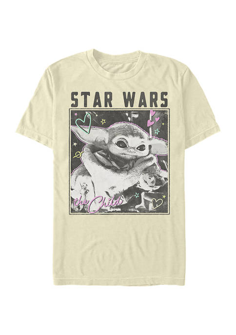 Star Wars® The Mandalorian Doodle Photo Short Sleeve