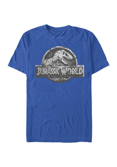 Jurassic World Return Logo Graphic Short Sleeve T-Shirt