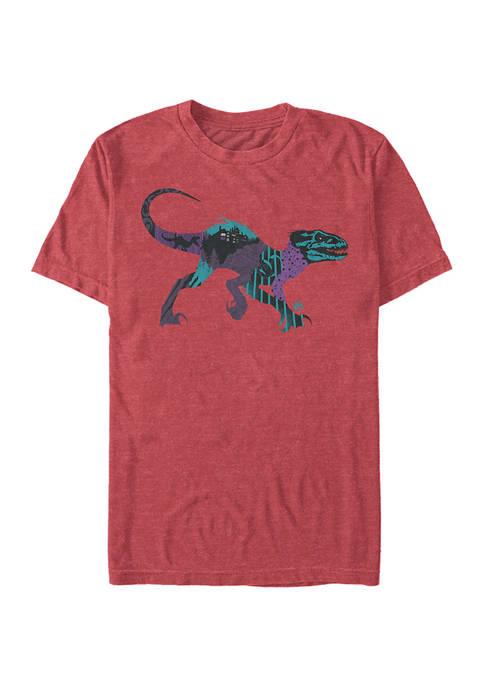 Jurassic World DNA Raptor Short Sleeve Graphic T-Shirt