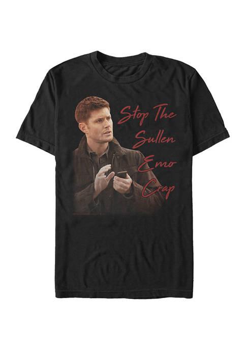 Dean Meme Graphic Short Sleeve T-Shirt