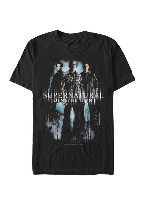 Trio Poster Graphic Short Sleeve T-Shirt