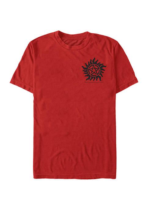 Supernatural Pocket Graphic Short Sleeve T-Shirt