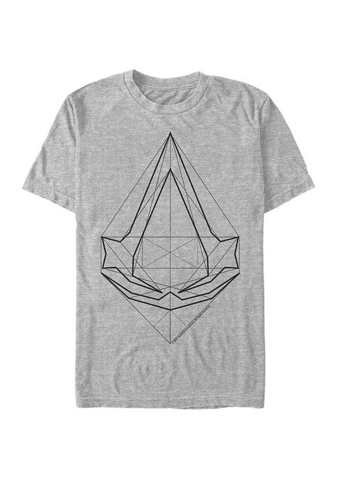 The Brotherhood Blueprint Graphic Short Sleeve T-Shirt