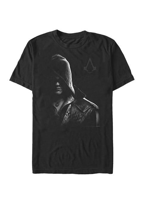 Half Mooned Graphic Short Sleeve T-Shirt