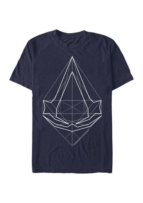 The Digital Crest Graphic Short Sleeve T-Shirt