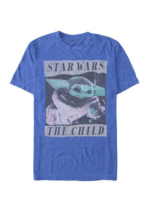 Star Wars® The Mandalorian Grungy Photo Short Sleeve