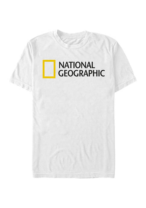 National Geographic Logo Graphic Short Sleeve T-Shirt