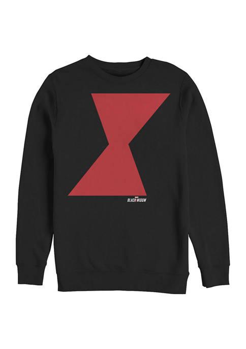 Widow Icon Graphic Crew Fleece Sweatshirt