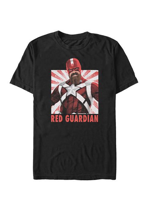 Super Soldier Gradient Graphic Short Sleeve T-Shirt