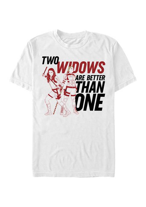 Two Widows Graphic Short Sleeve T-Shirt