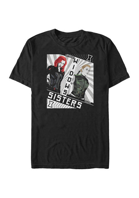 Red Sisters Graphic Short Sleeve T-Shirt