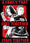 Spy Together Graphic Short Sleeve T-Shirt