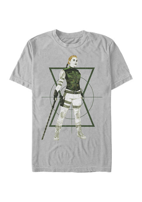 Yelena Target Graphic Short Sleeve T-Shirt