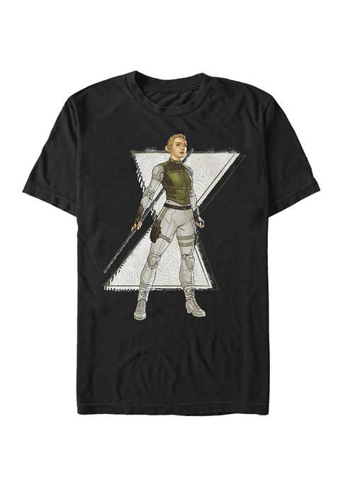 Comic Yelena Graphic Short Sleeve T-Shirt