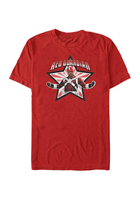 Red Star Graphic Short Sleeve T-Shirt