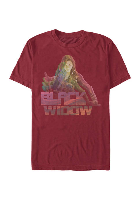 Black Widow Graphic Short Sleeve T-Shirt