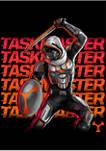 Taskmaster Neon Graphic Short Sleeve T-Shirt