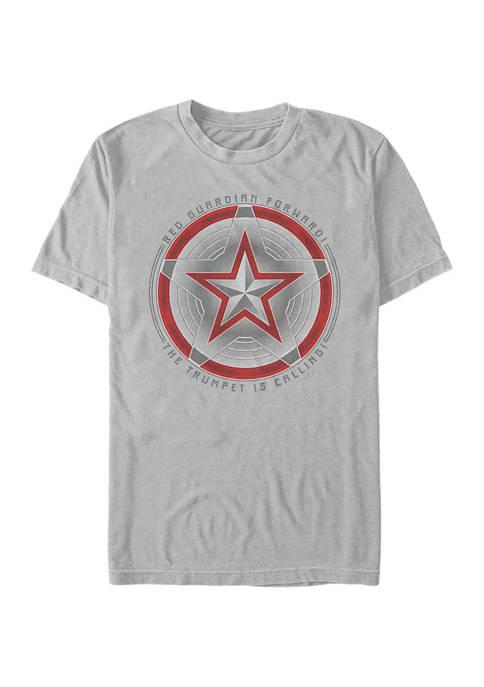 Trumpet Guardian Graphic Short Sleeve T-Shirt