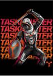 Taskmaster Neon Graphic Crew Fleece Sweatshirt