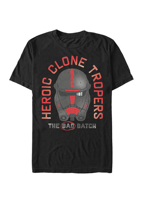 Heroic Batch Graphic Short Sleeve T-Shirt