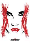 Widow Face Graphic Fleece Hoodie