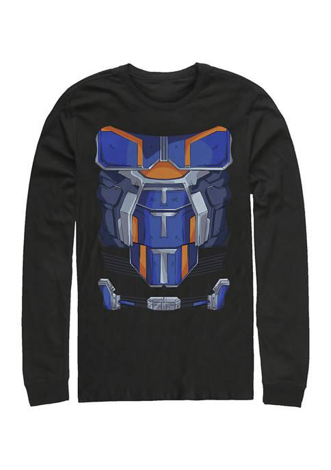 Taskmaster Costume Graphic Long Sleeve T-Shirt