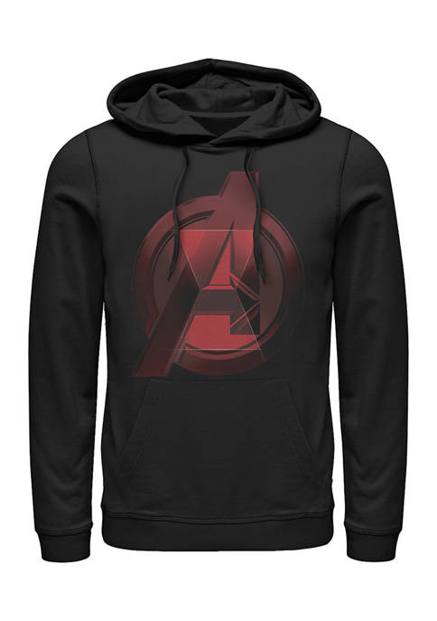 Widow Avenger Logo Graphic Fleece Hoodie